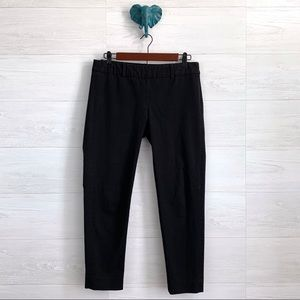 Cynthia Rowley Black Side Zip Crop Capri Trouser